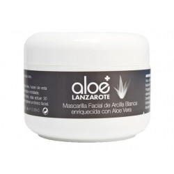 Aloe Plus Lanzarote. Aloe vera and Clay Face Mask 100ml