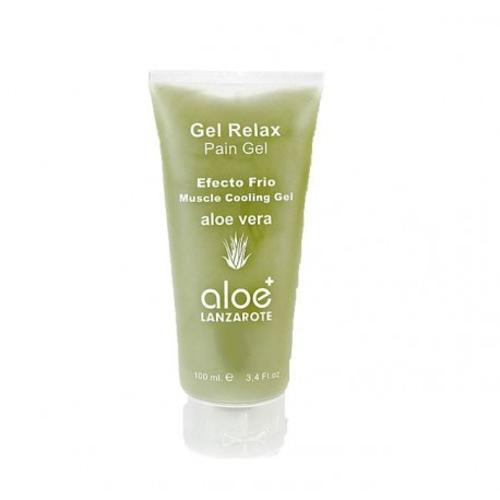 Aloe Plus Lanzarote. Relax Gel Cold Effect Aloe vera 100ml