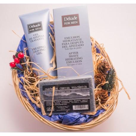 Gift Basket. Men Shaving