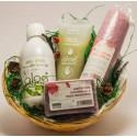 Gift basket. Relax with Aloe Vera.