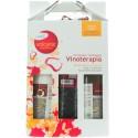 Aloe Plus Lanzarote. Wine pack. wine body Lotion, Bath wine salts, Wine body Oil.