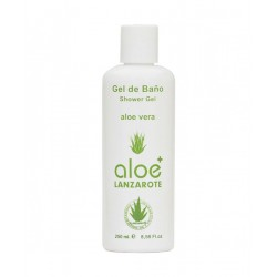 Aloe Plus Lanzarote. Aloe Vera Gel de baño 250ml