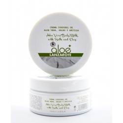 Aloe Plus Lanzarote. Crema Corporal de Aloe Vera, Sales y Arcilla 250 ml