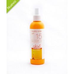 Aloe Plus Lanzarote. Aloe Vera Sun oil SPF15. 200ml