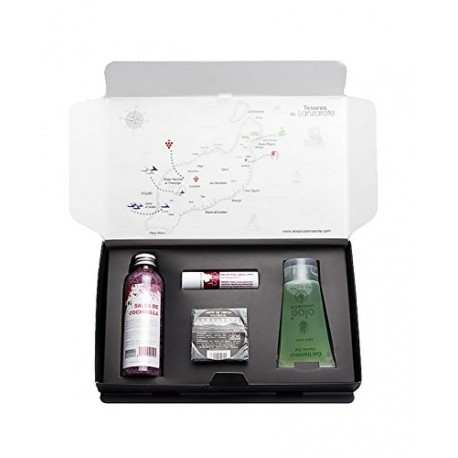 Special gift. Aloe Plus Lanzarote. Treasures of Lanzarote.