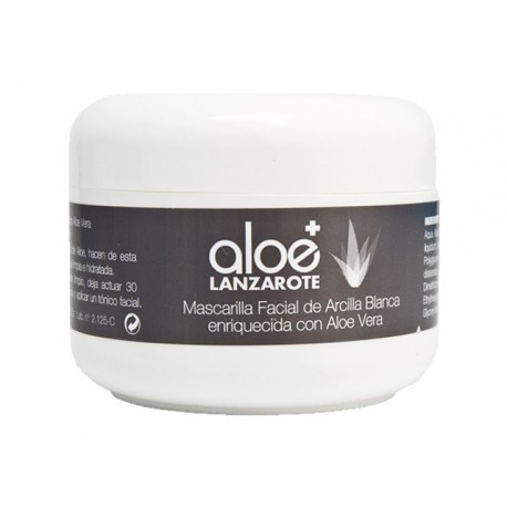Aloe Plus Lanzarote. Aloe vera and Clay Face Mask 100ml