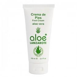 Aloe Plus Lanzarote. Crema de pies con Aloe vera 100 ml