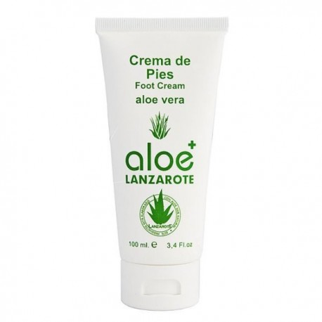 Aloe Plus Lanzarote. Aloe vera Foot Cream 100ml