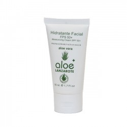 Aloe Plus Lanzarote. Moisturising Facial Sunscreen with SPF50 and Aloe Vera