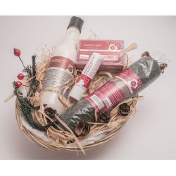 Gift Basket. Made from wine.