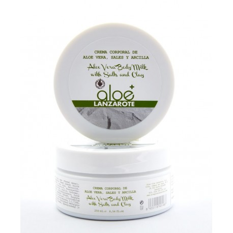 Aloe Plus Lanzarote. Clay, Salts and Aloe Vera Body Cream 250 ml