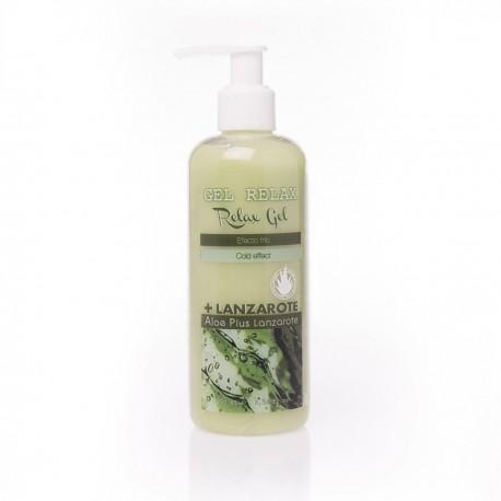 Aloe Plus Lanzarote. Gel Relax Efecto frío de Aloe vera 250 ml